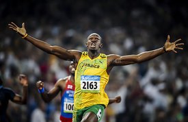 Beijing 2008 Olympic Games -  Usain Bolt 200m World Record