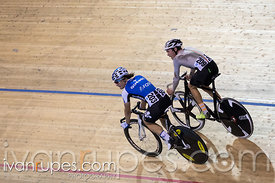 Junior Men Omnium Elimination Race. Milton International Challenge, Mattamy National Cycling Centre, Milton, On, September 30, 2016