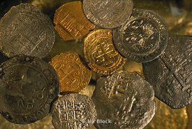 Gold and Silver Coins found in Shipwrecks along Cuban Waters