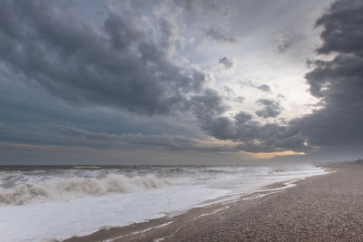 Storm Frank at Thorpeness