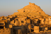 Fortress of Shali, Siwa oasis, the Great Sand Sea, Western desert, Egypt