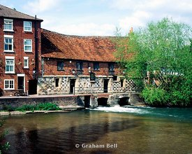 the old mill harnham salisbury wiltshire england