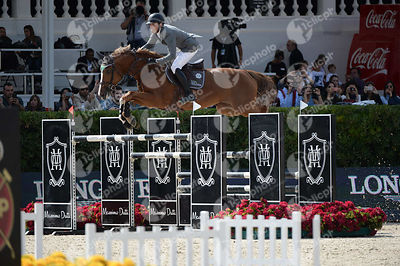 Henrik VON ECKERMANN ,(SWE), GOTHA FRH during Longines Cup of the City of Barcelona competition at CSIO5* Barcelona at Real Club de Polo, Barcelona - Spain