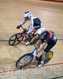 Master C Men Sprint 1/2 Final. Canadian Track Championships, Mattamy National Cycling Centre, Milton, On, September 25, 2016