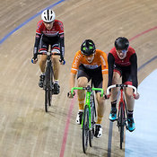 Junior Men Scratch Race, 2017/2018 Track Ontario Cup #1, Mattamy National Cycling Centre, Milton On, December 10, 2017