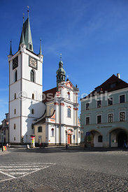 Church of All Saints, Mirove Square, Litomerice, Czech Republic