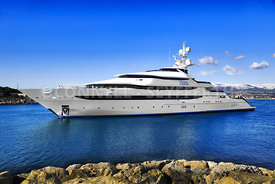 Superyacht Princess Olga