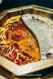 sichuan spicy ma la hot pot