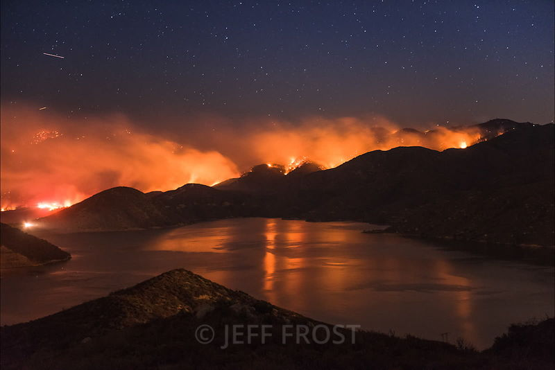 WILDFIRE + WATER time lapses