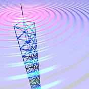 Radio Transmission Tower 14B original