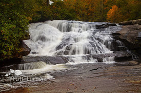 Waterfalls in Dupont State Park