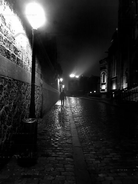 Montmartre by Night Art Photographs