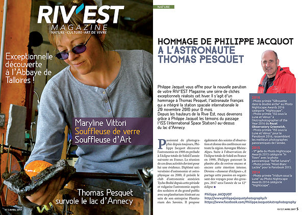 RIV'EST MAGAZINE - Avril 2017 photos
