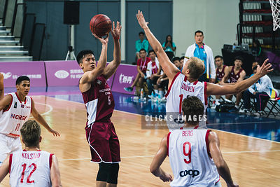 Men's Basketball Pool B: Hong Kong vs. Norway