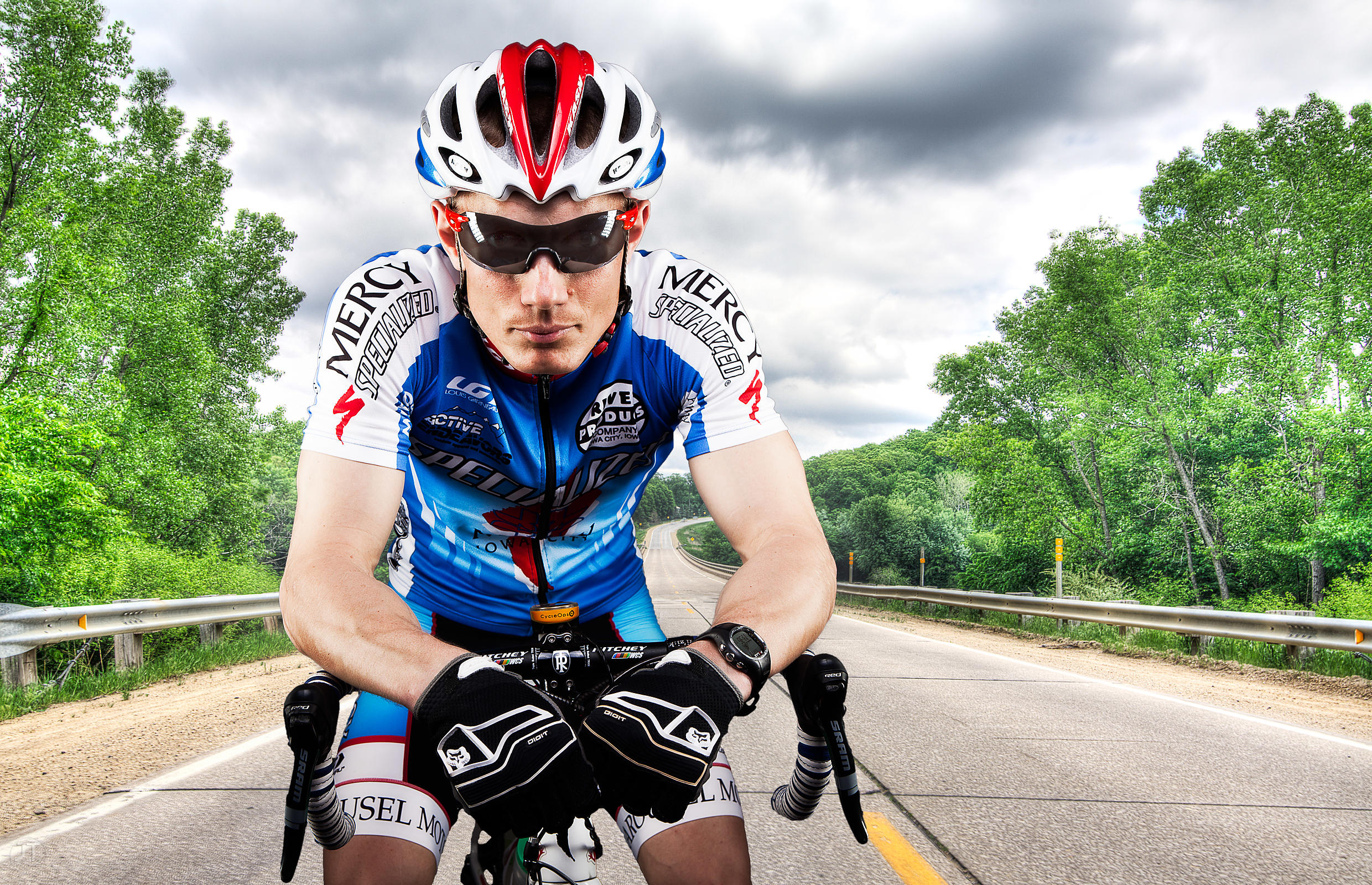 Mario Czarnomski, Pro Cat 1 Racer, Iowa City Cycling Club (Justin Torner/Freelance)