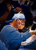 Cochlear implant surgeon