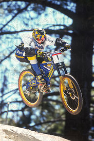 MISSY GIOVE TRAINING BIG BEAR, USA. GRUNDIG DOWNHILL WORLD CUP 1998