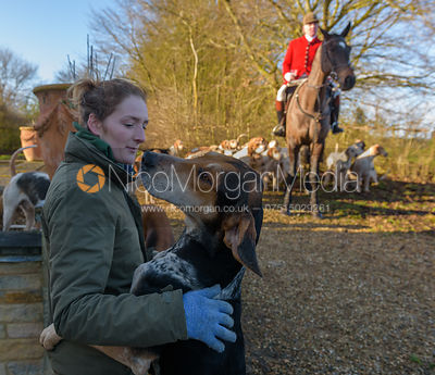The Cottesmore Hunt at Town Park Farm 16/1 photos