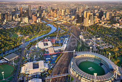 Australian Open - Melbourne Sports Precinct