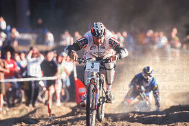 DAVE CULLINAN WINS AS MIKE KING CRASHES AT BIG BEAR, USA.  DUAL WORLD CUP 1998