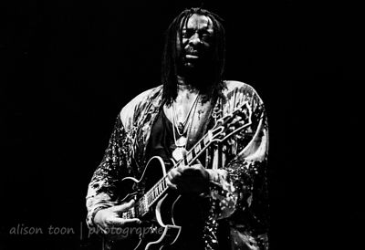 James Blood Ulmer at Grenoble Jazz Festival, 1995