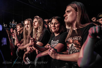 Fans watching Sabaton, Ace of Spades, Sacramento
