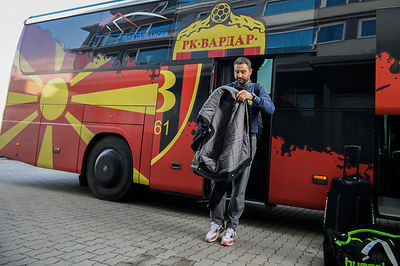 HC Vardar - Arrival photos