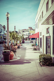 Newport Beach Main Street Balboa Peninsula Picture