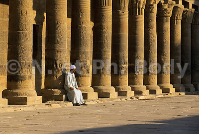 TEMPLE DE PHILAE, ASSOUAN, EGYPTE//TEMPLE OF PHILAE, ASWAN, EGYPT