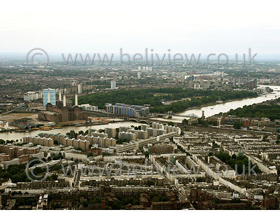 London aerial photographs