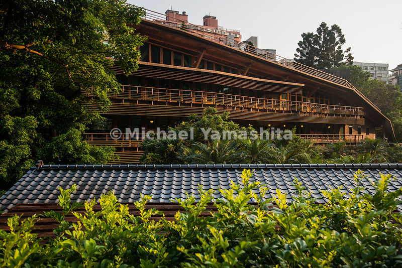 Beitou, Taiwan's best known spa town built by the Japanese. Pics of Taipei Public Library, Beitou. Famous for it's internationally recognized architecture and green building.