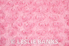 Pink Furry Fabric Background