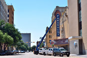Exterior of the Paramount Theater in Abilene, TX