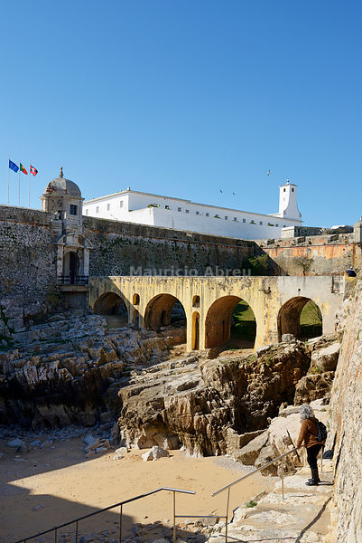 Peniche fortress, a former political prison, now open to the public. Portugal (MR)