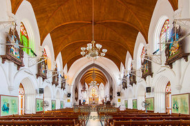 San Thome Basilica Interior, Chennai, India