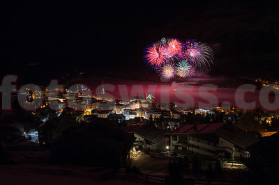 Russian Christmas Fireworks -  Saint Moritz  photos