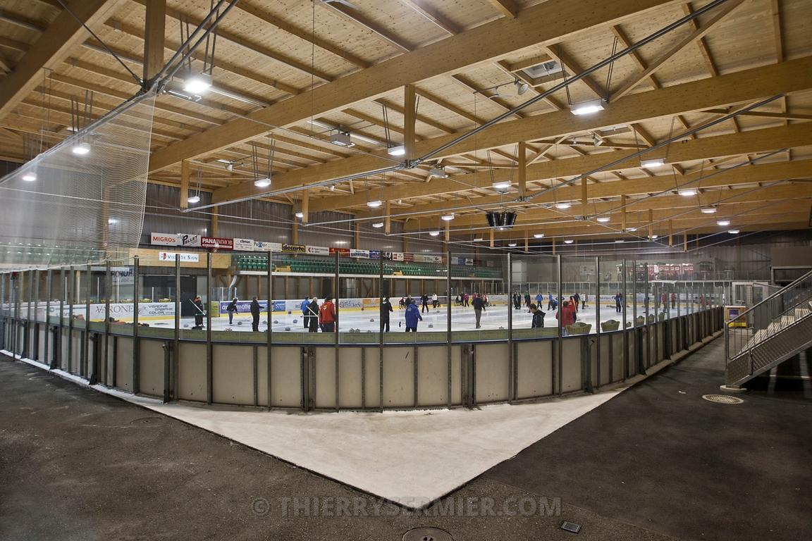 Thierry sermier photographie patinoire couverte de sion for Piscine patinoire