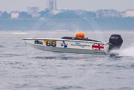 Itssar, Pro-Rig Marine, 66, Fortitudo Poole Bay 100 Offshore Powerboat Race, June 2018, 20180610190