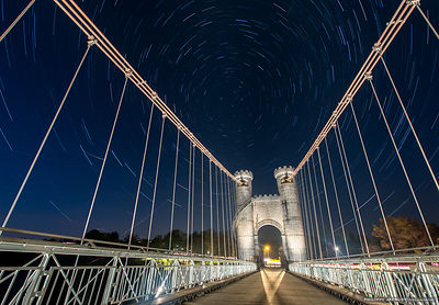 A bridge under the stars - Pont de la Caille
