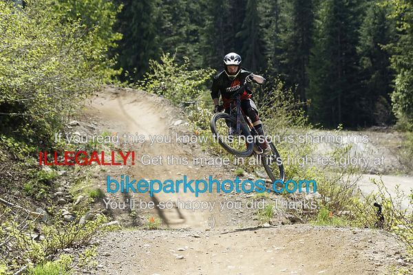 Monday May 21st ALine First Hit bike park photos