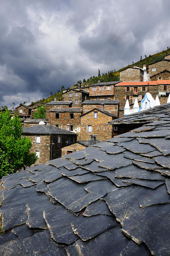 Piódão, old traditional village, all built in schist, in the heart of Portugal