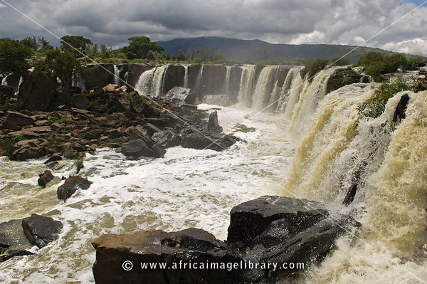 Fourteen Falls on the Athi river, near Thika, Kenya