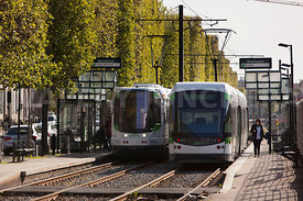 Photo de l arret de tramway Manufacture