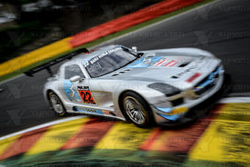 22 Godfrey Jones / David Jones Preci Spark Mercedes SLS AMG GT3