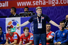 Sergey Bebeshko during the Final Tournament - Final Four - SEHA - Gazprom league, Bronze Medal Match Meshkov Brest - PPD Zagreb, Belarus, 09.04.2017, Mandatory Credit ©SEHA/ Stanko Gruden..