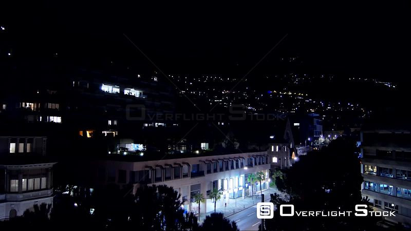 Time Lapse. A night in Montreux, Switzerland