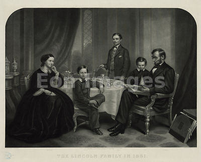 Lincoln family in 1861