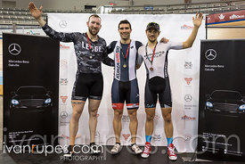 Men Keirin Podium, 2017/2018 Track Ontario Cup #2, Mattamy National Cycling Centre, Milton On, January 14, 2018