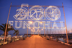 500th anniversary of Funchal, Madeira, Portugal