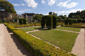 Photo du jardin du chateau